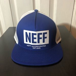 Brand New! Neff SnapBack Trucker Hat
